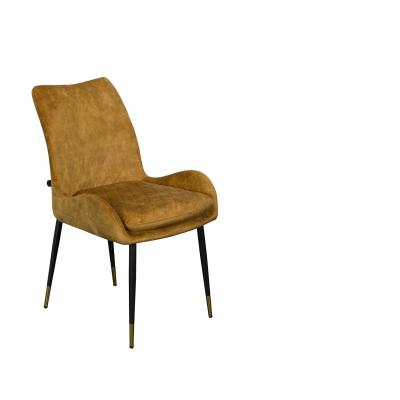 Sarah Dining Chair (Yellow Velvet)