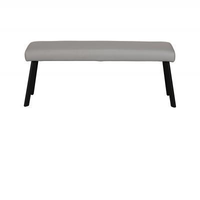 Laura Low Bench (Grey PU)