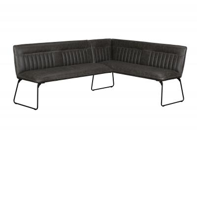 Cooper Corner Bench (Left Grey PU)