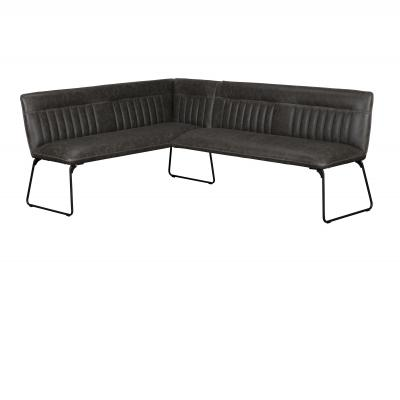 Cooper Corner Bench (Right Grey PU)