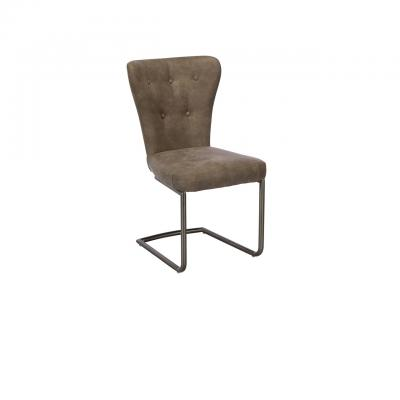Oscar Dining Chair (Grey Fabric)