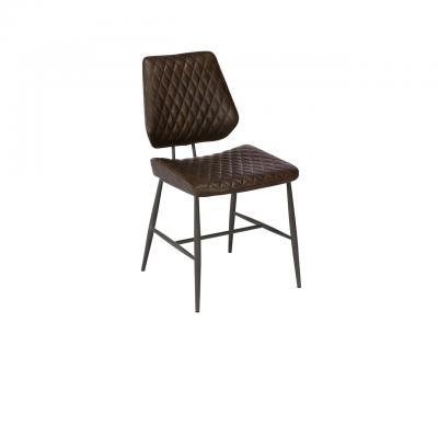 Dalton Dining Chair (Dark Brown)