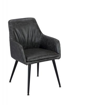 Oliver Arm Chair (Grey)
