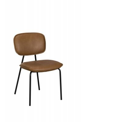 Olivia Dining Chair (Brown PU)