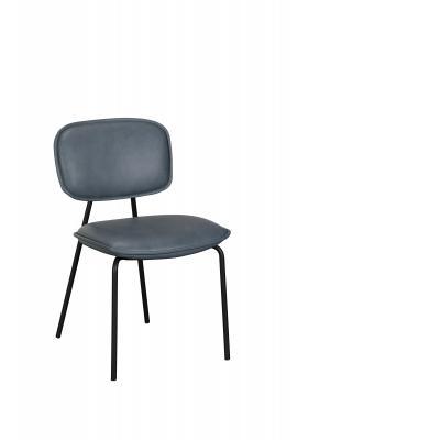 Olivia Dining Chair (Blue PU)