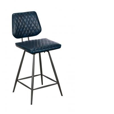 Dalton Counter Bar Chair/Stool (Dark Blue)