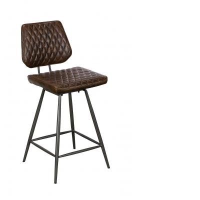 Dalton Counter Chair (Dark Brown)