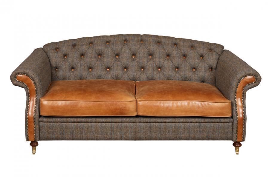 VINTAGE Hornby 2 Seater Sofa
