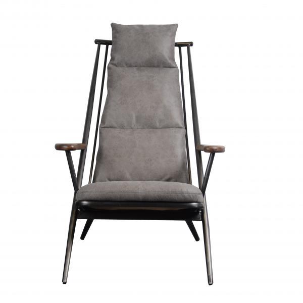 VINTAGE Heydon Chair (Ely - Millan Steel Cover)