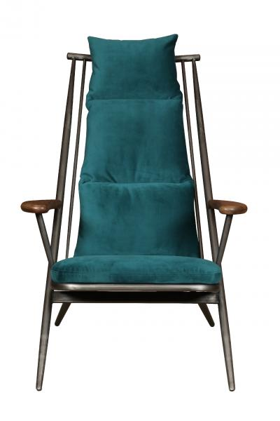 VINTAGE Sudbury/Ely Chair Frame Only (Gunmetal finish)