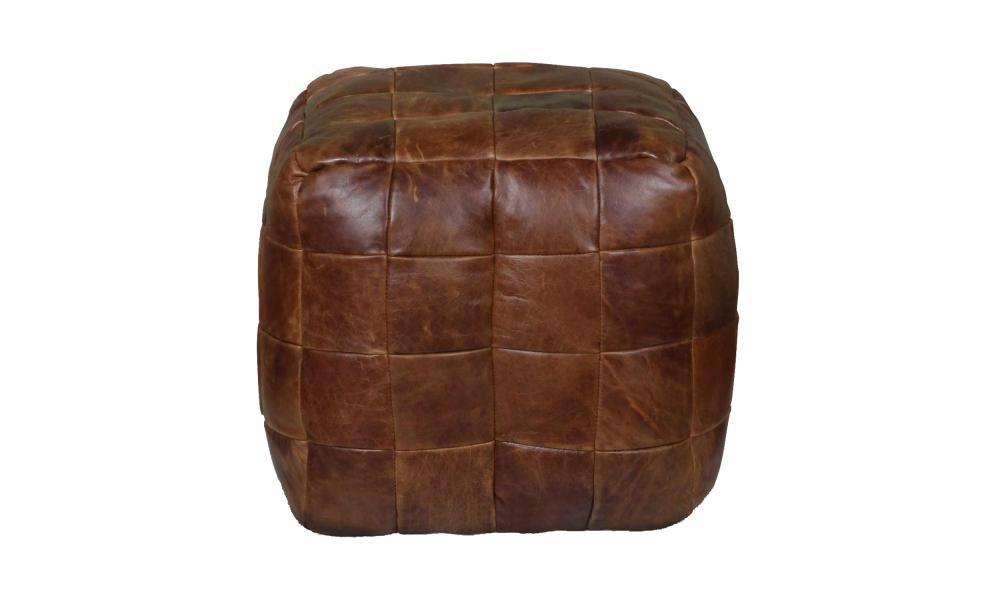 VINTAGE Bean Bag Cube - 3L Cerato Leather