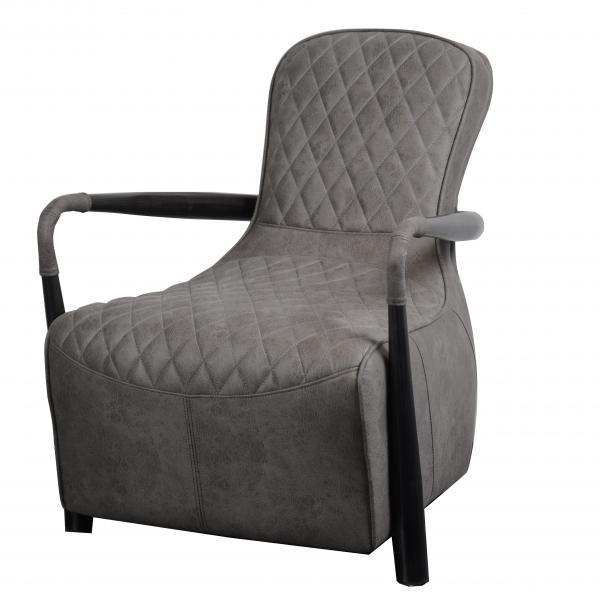 VINTAGE Manhattan Snug Chair (Liberty - Millan Steel Cover)