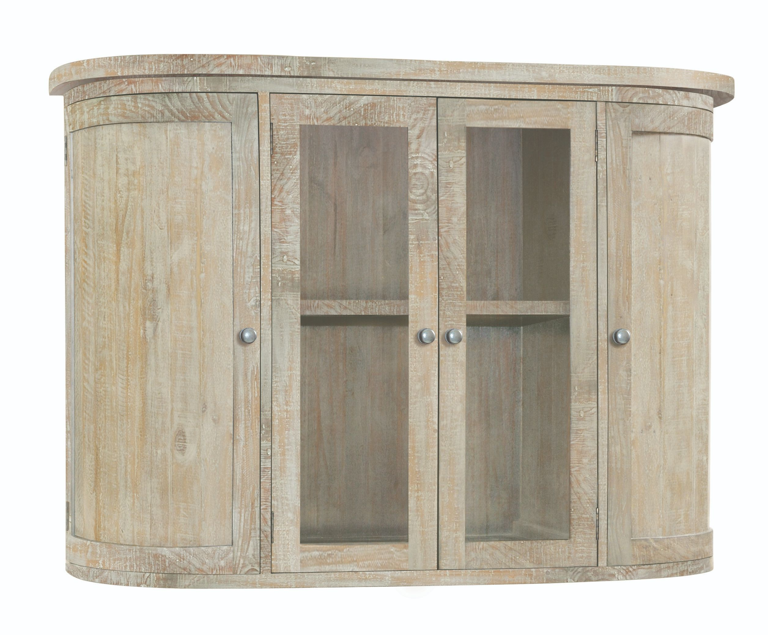 BROUGHTON HUTCH (TOP FOR SIDEBOARD) In Lime-washed Timber