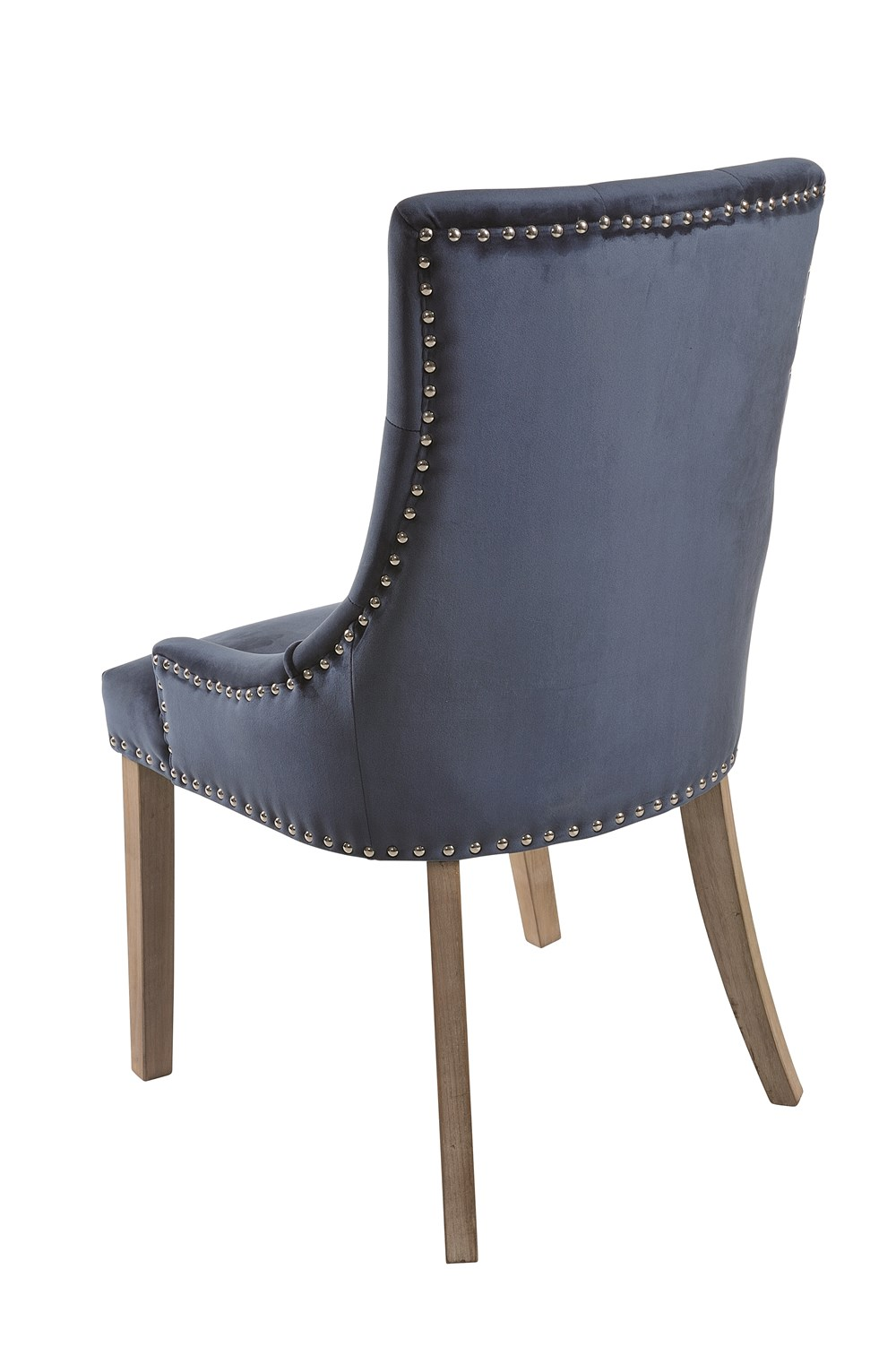 BROUGHTON VICKY Prussian Blue Upholstered Chair