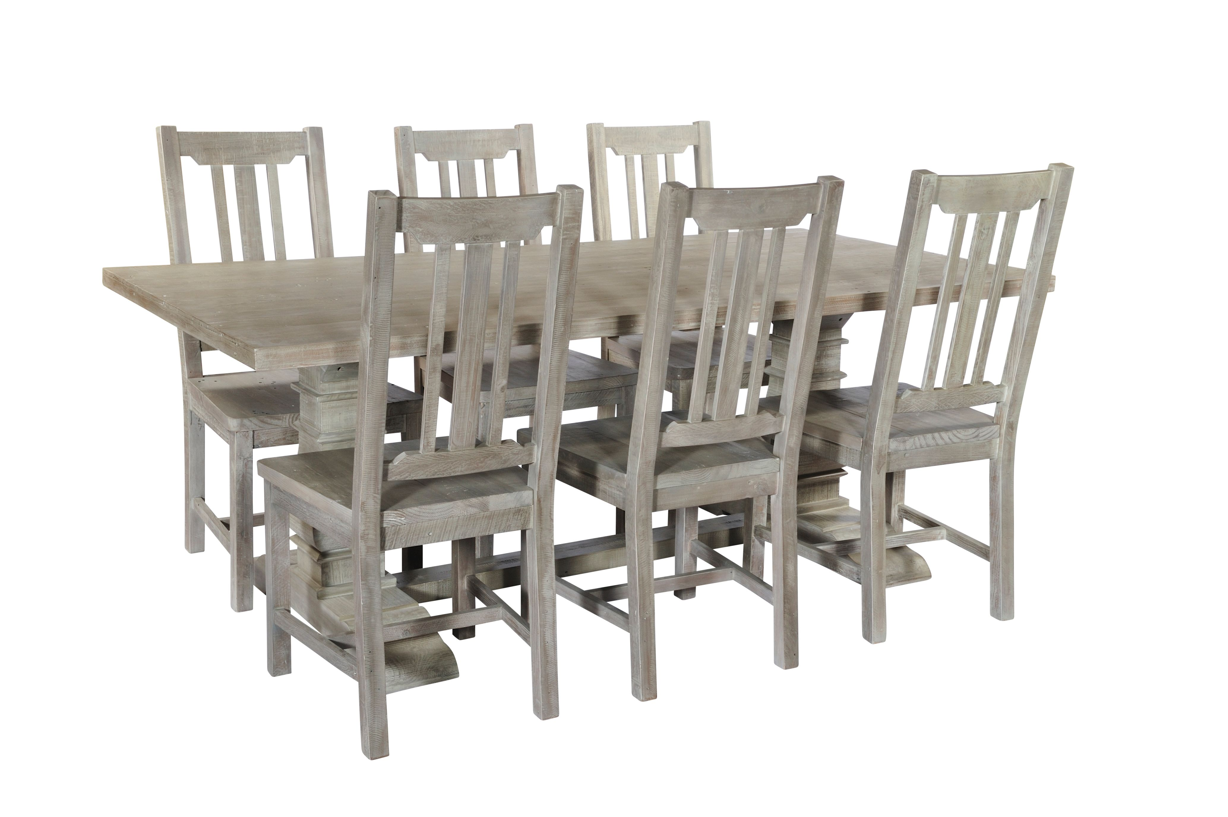 BROUGHTON DINING CHAIR In Lime-washed Timber