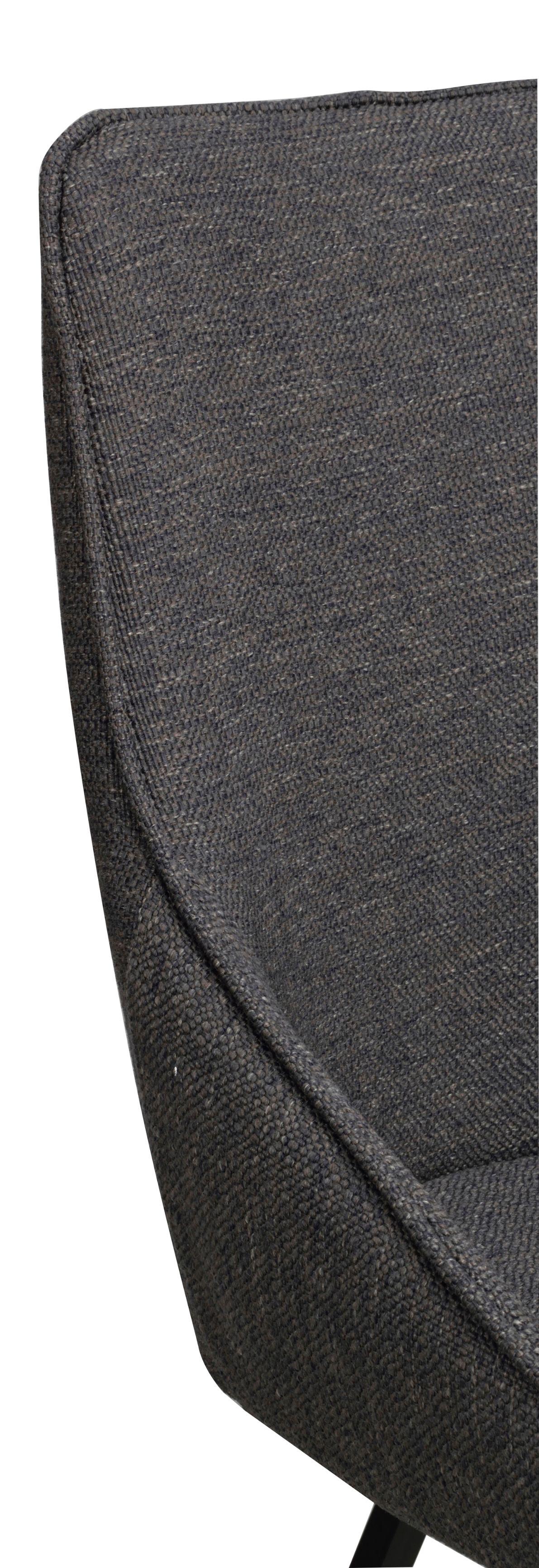 BROOKLYN ALISON GREY/BLACK SWIVEL CHAIR