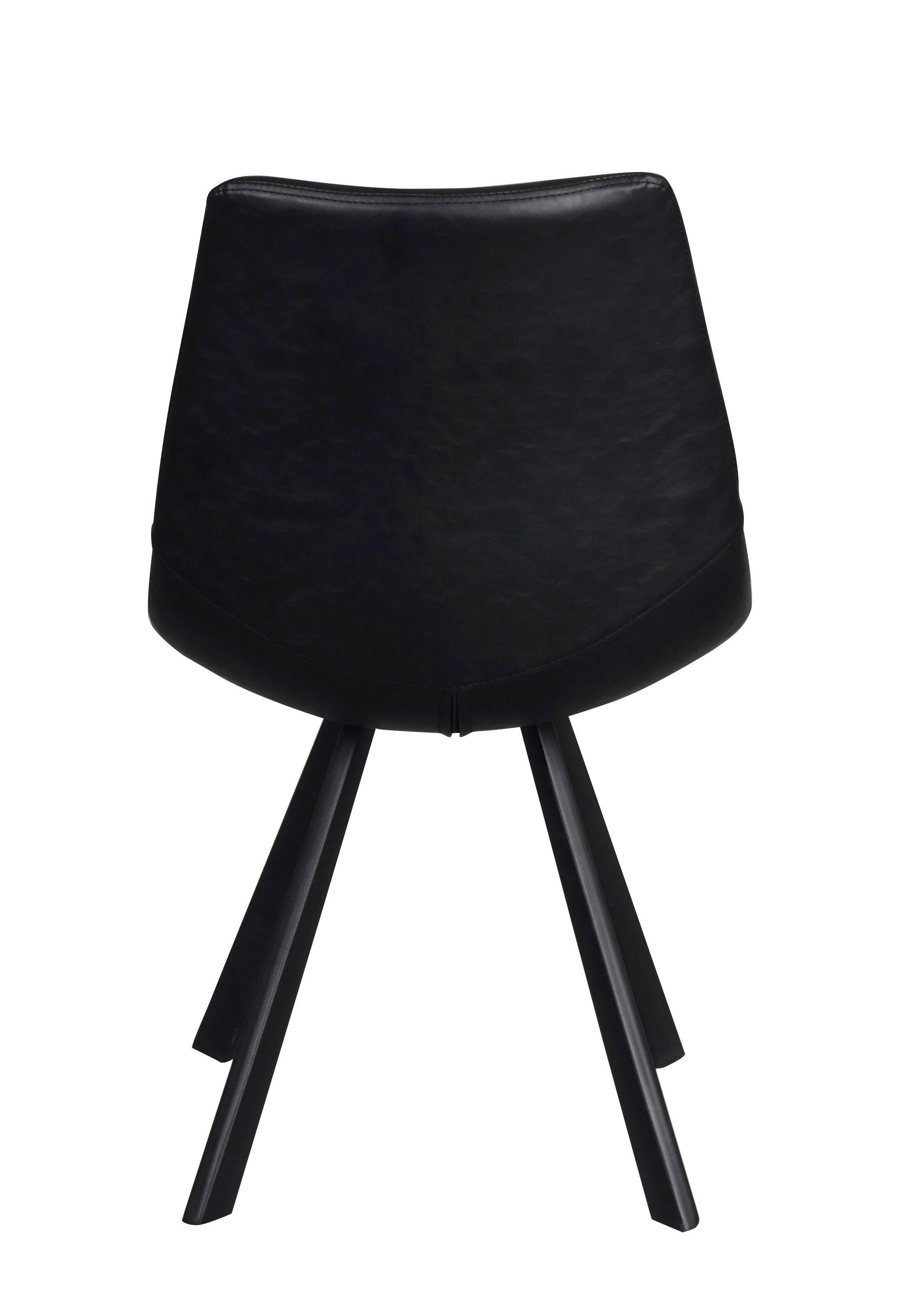 FILIPPA Black Auburn Chair