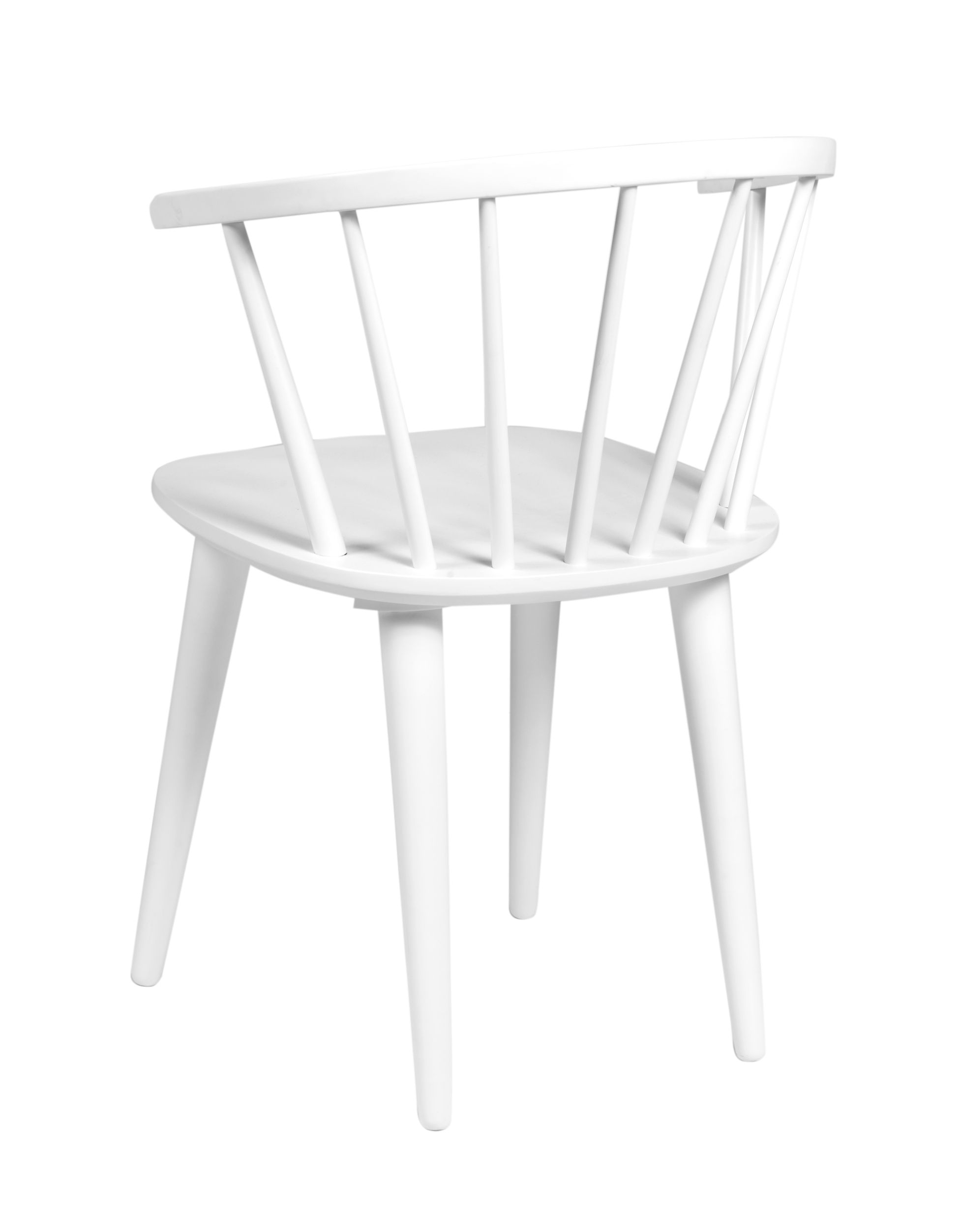 FILIPPA White Carmen Chair