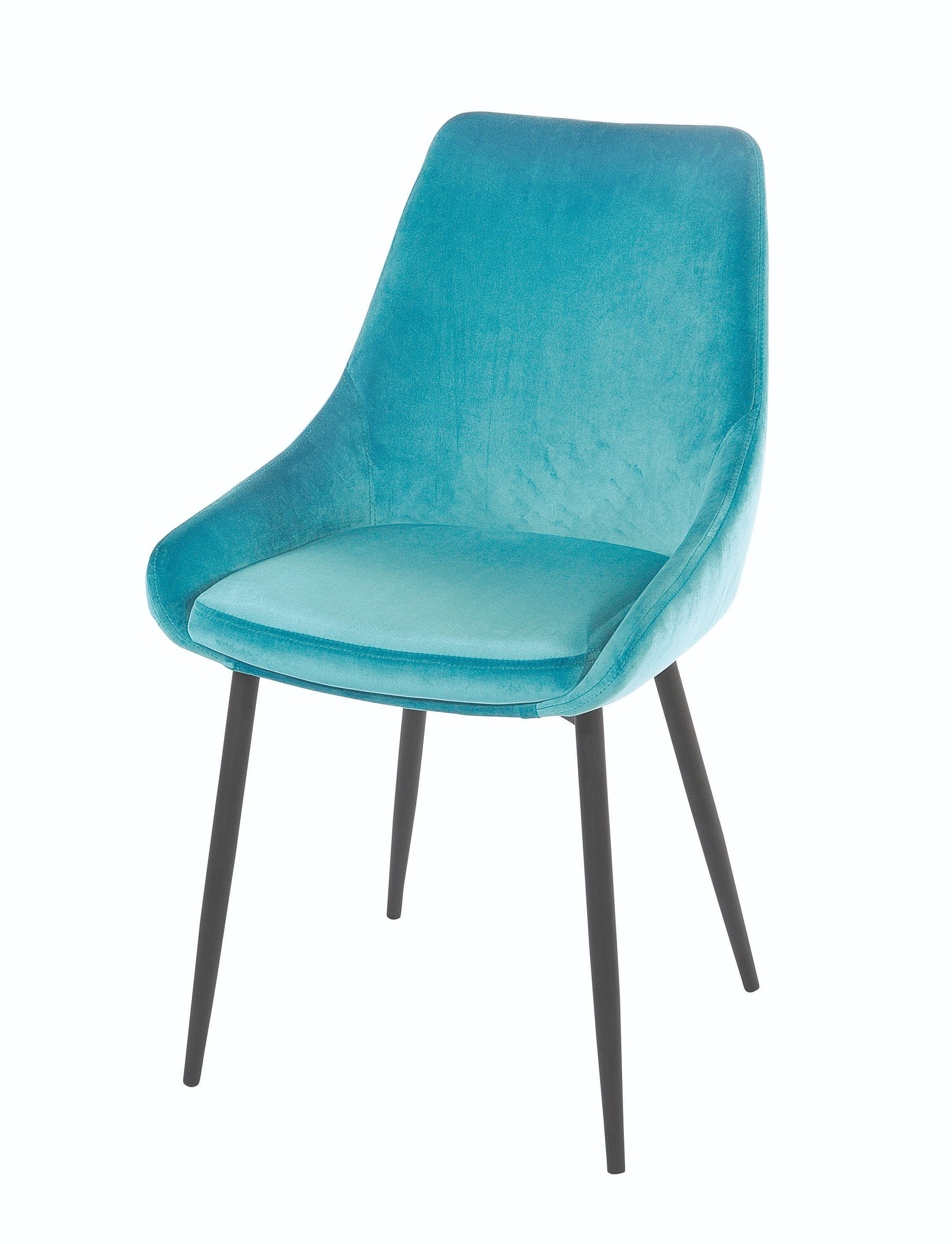 SIERRA CHAIR Turquoise Upholstered Chair