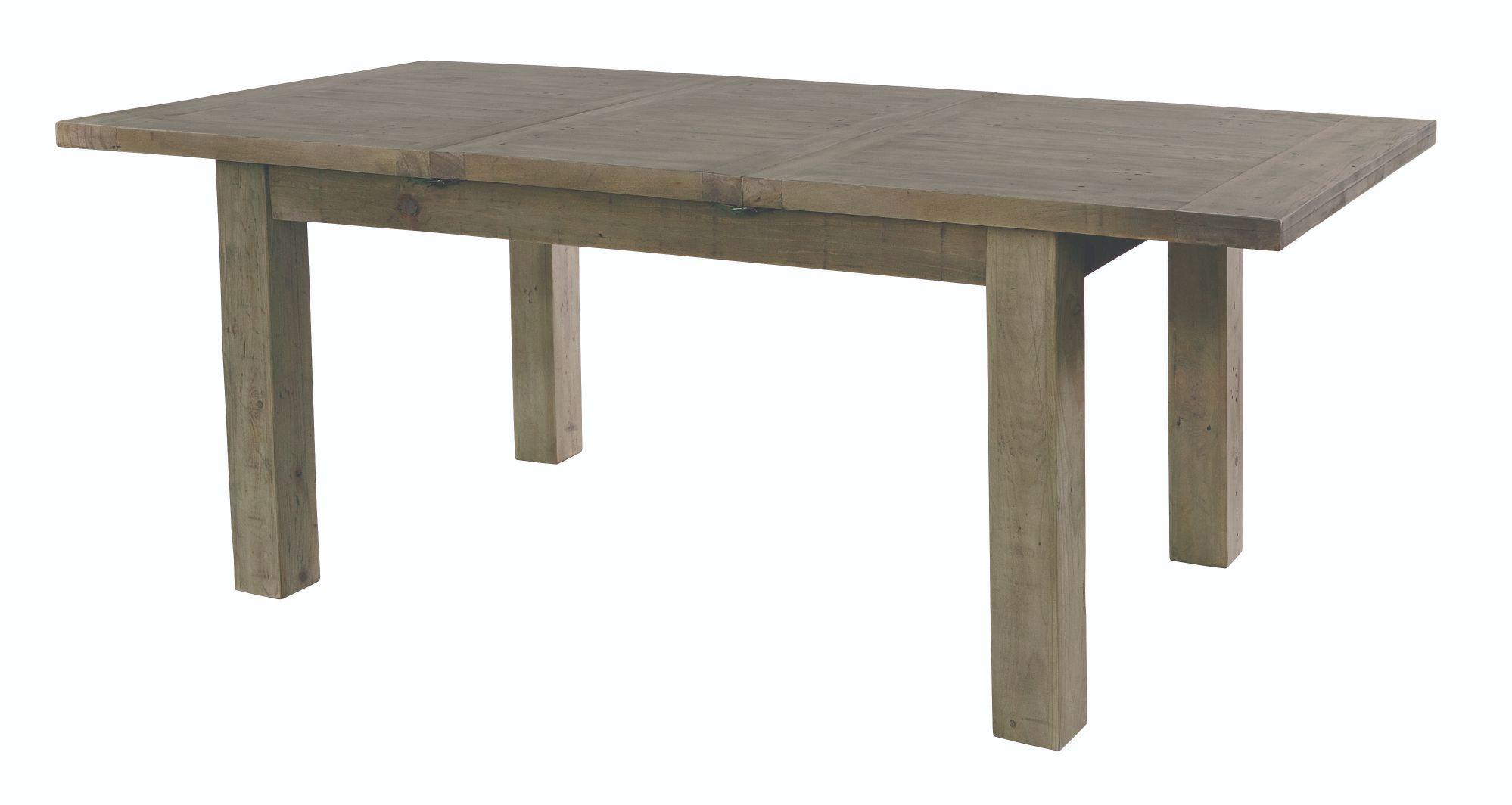 SALTASH 180 EXTENDING DINING TABLE Driftwood