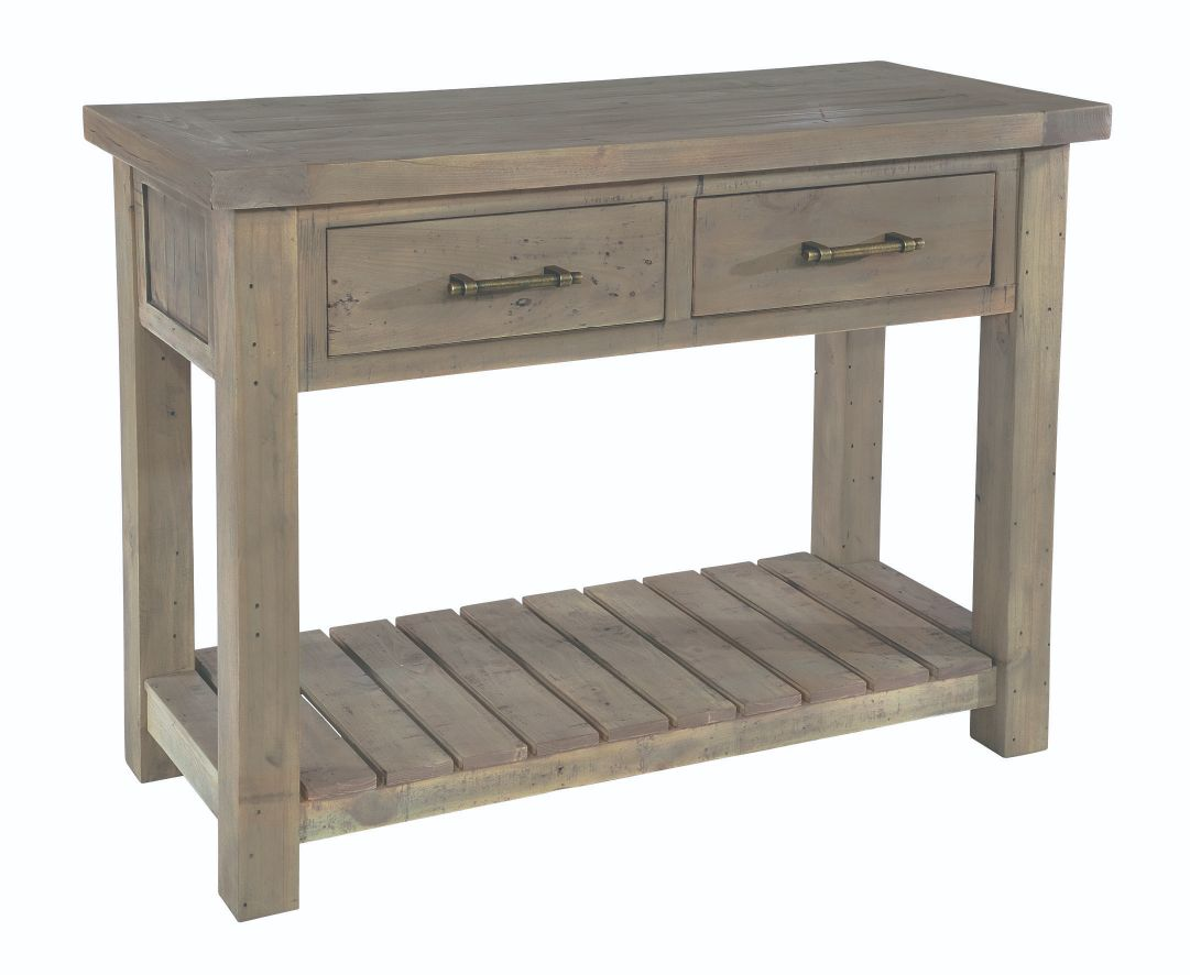 SALTASH CONSOLE TABLE Driftwood
