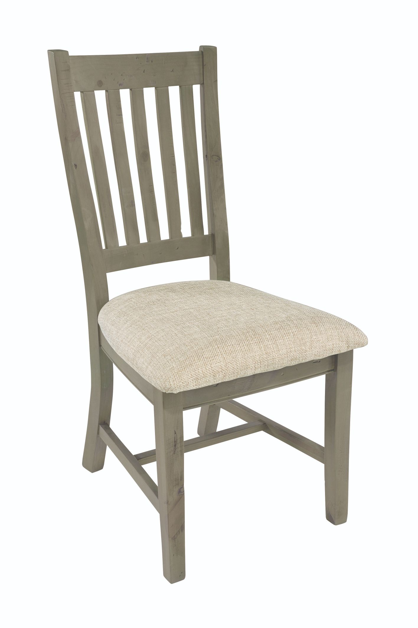 SALTASH DINING CHAIR Driftwood & Material Pad