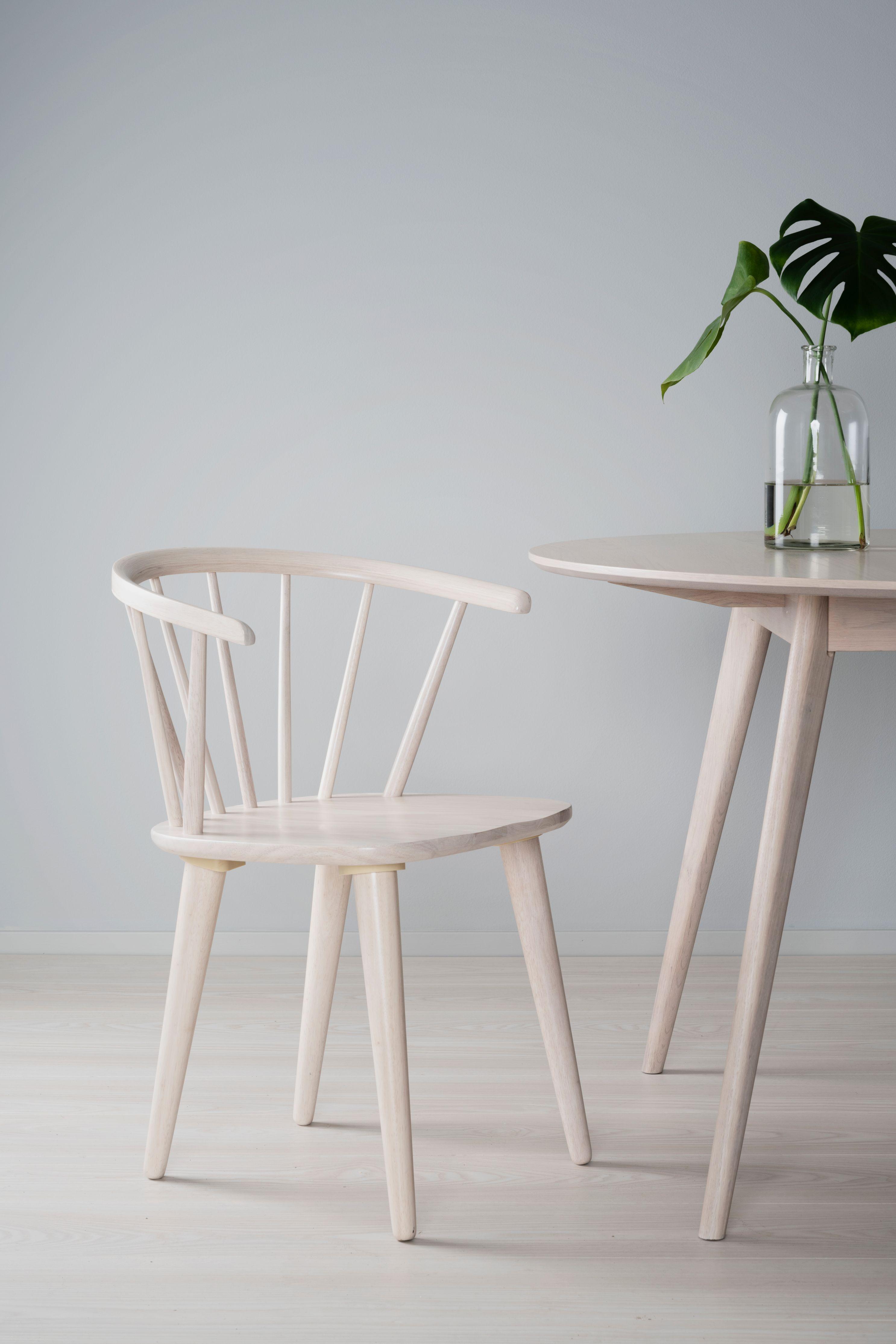 DAWSONE Carmen Whitewash Chair