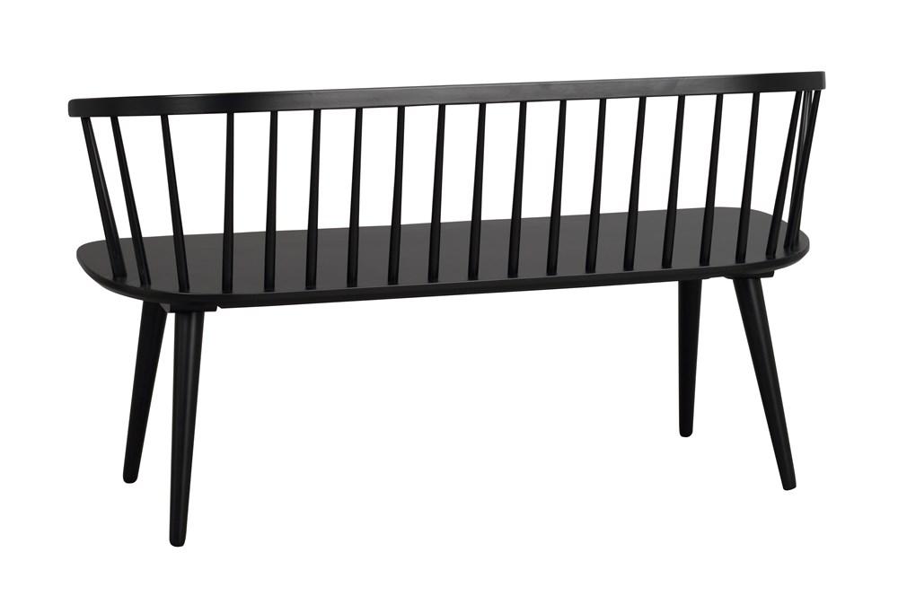 BROOKLYN CARMEN BLACK Bench