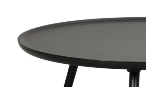 DAISY Nest of Tables in Black Lacquered Wood
