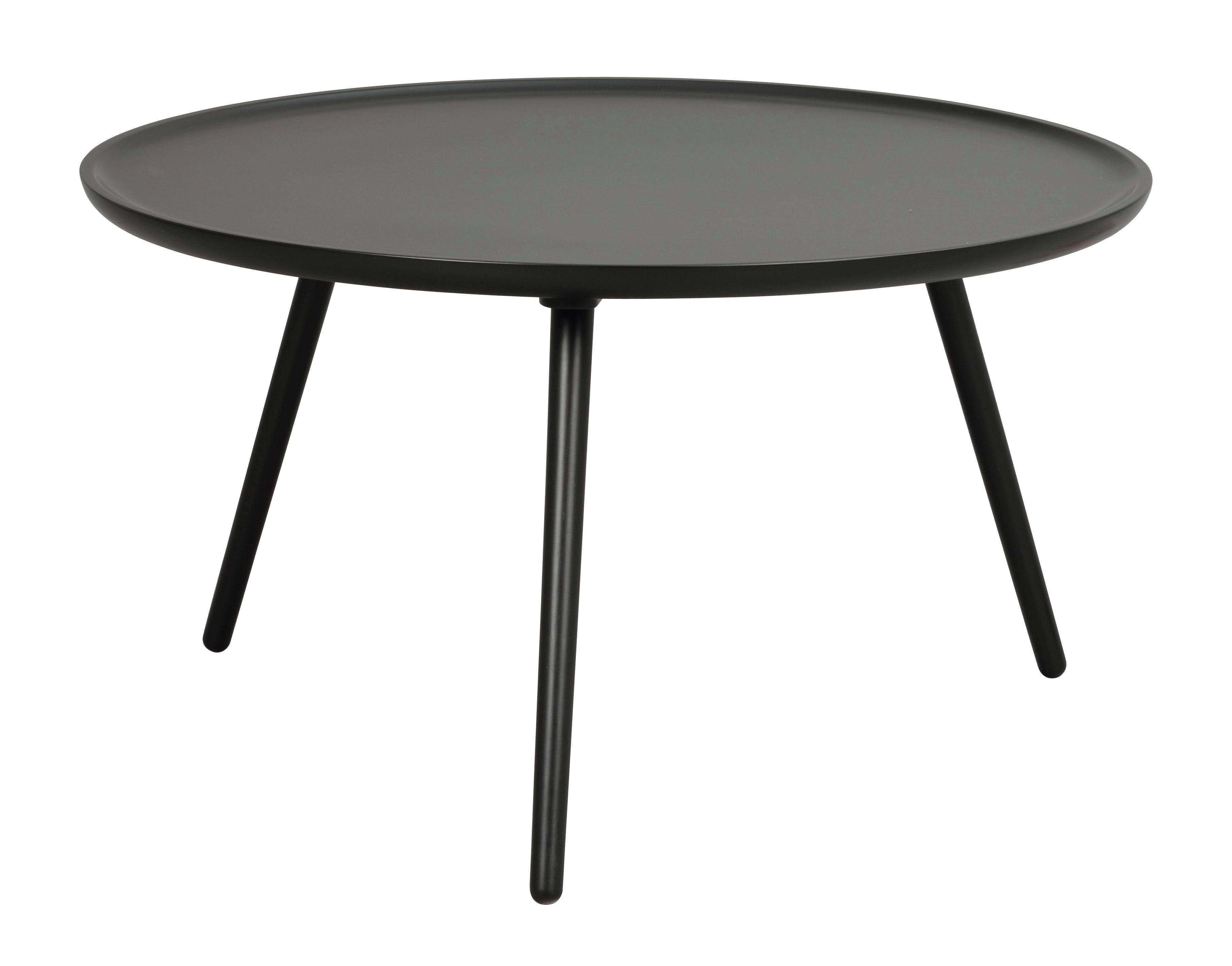 DAISY Large Coffee Table in Black Lacquered Wood