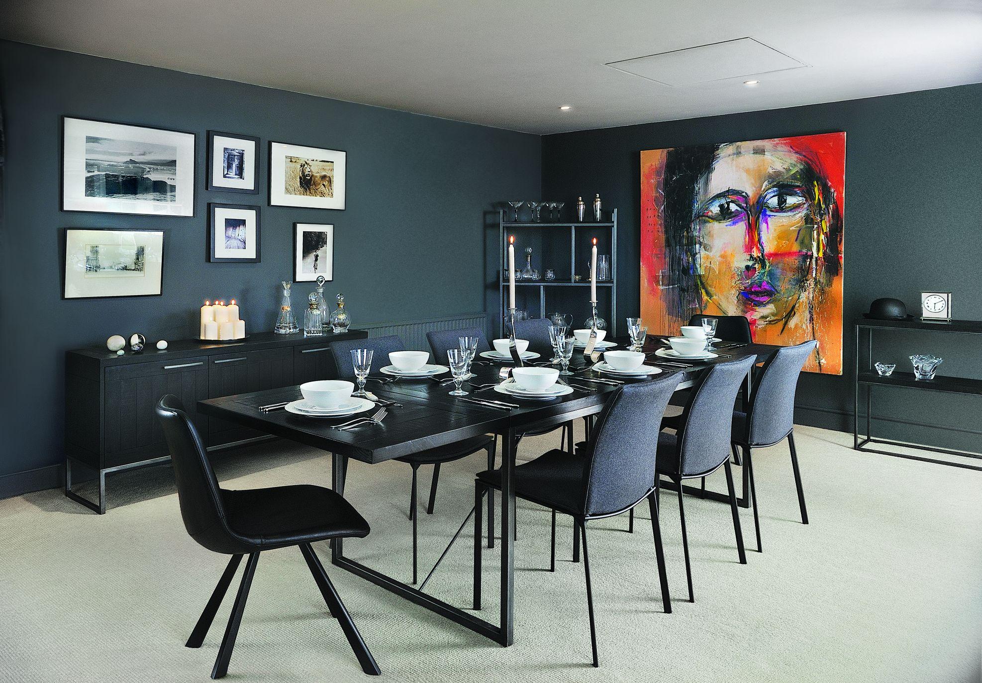 Rowico - DALTON CHARCOAL - Living & Dining