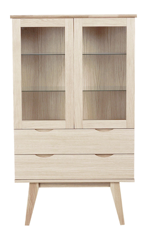 FILIPPA Glass Display Cabinet