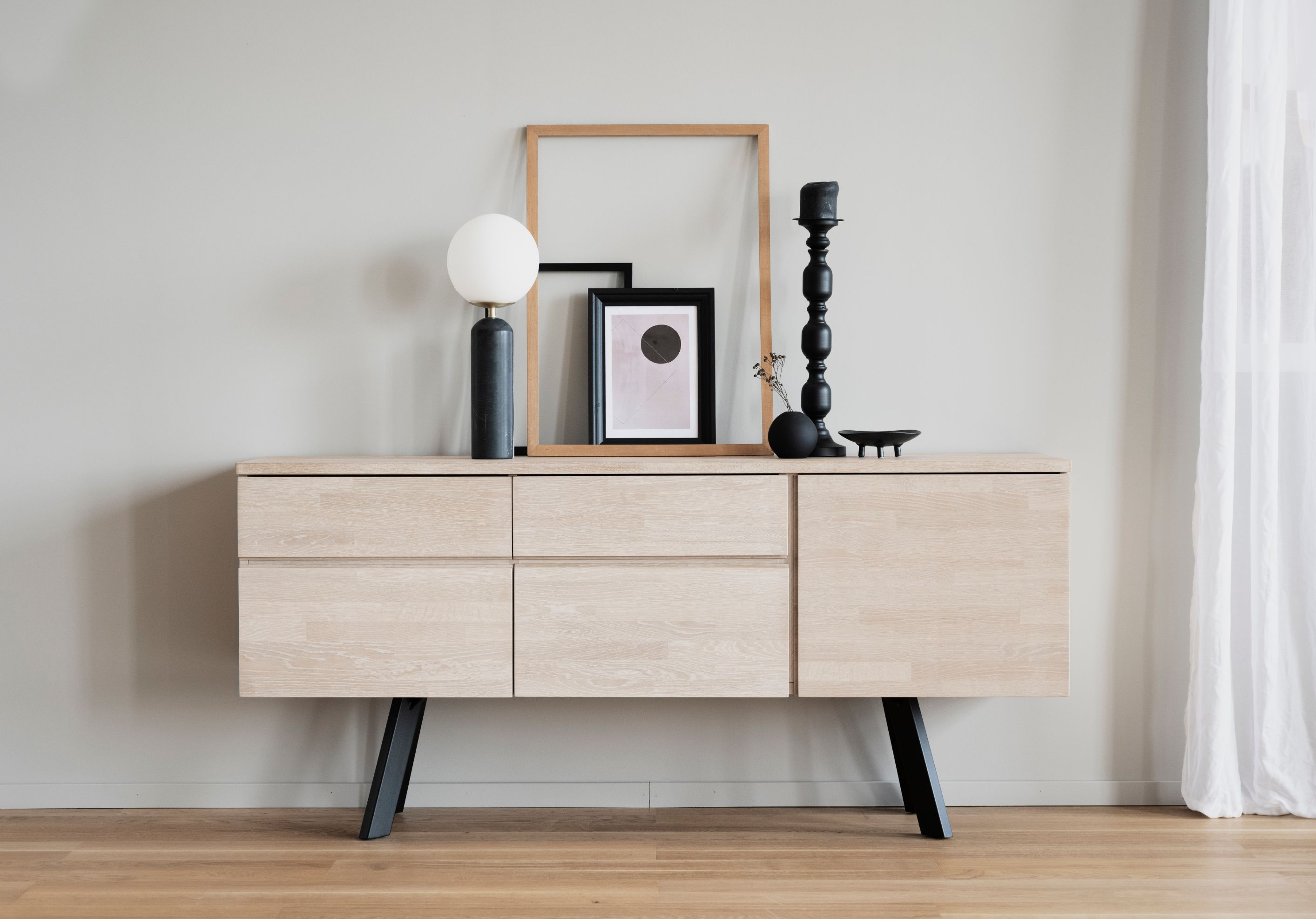 FRED LIGHT OAK Sideboard