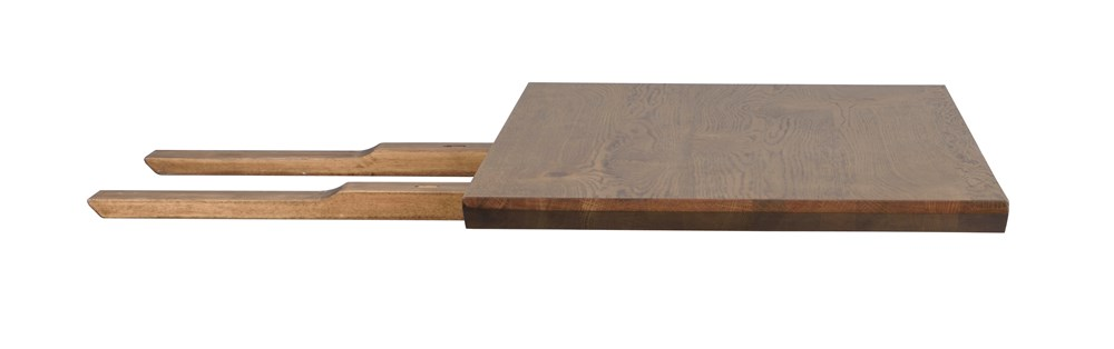 MELVILLE Dining Table Extension In Brown Oak