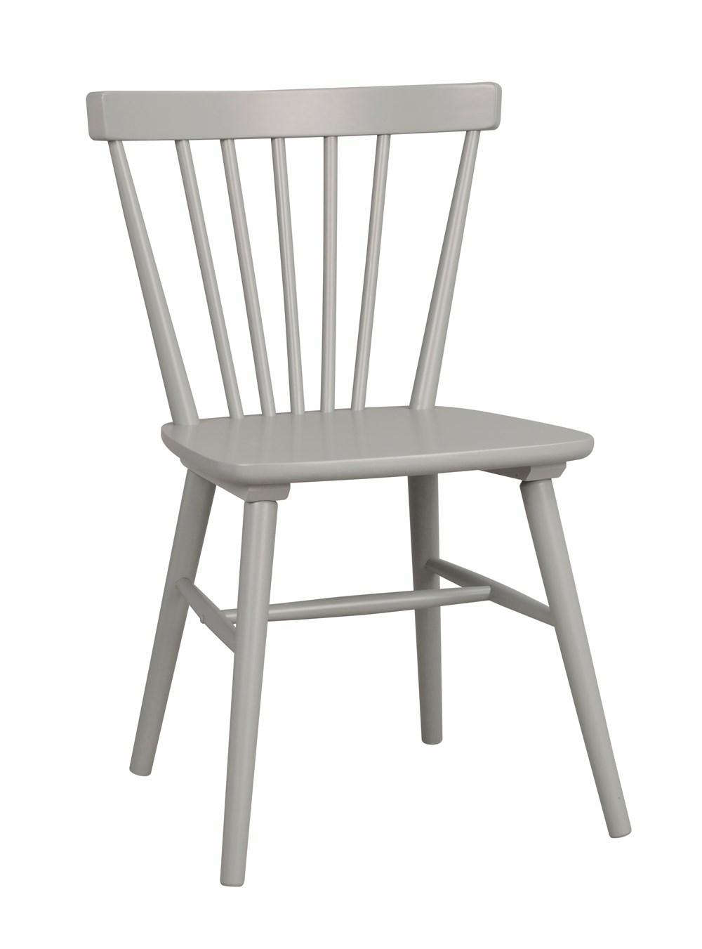 AKITA CHAIR Light Grey Rubberwood Chair
