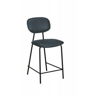 Olivia Bar Chair/Stool (Grey PU)