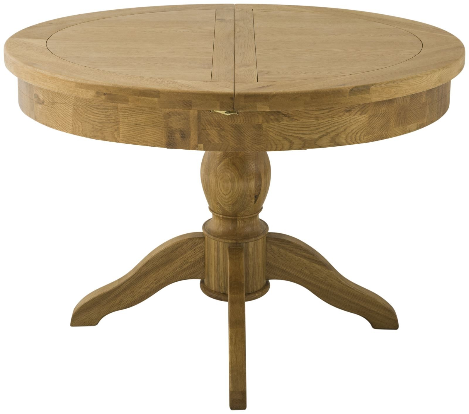 PRESTON GRAND Round Butterfly Extending Dining Table
