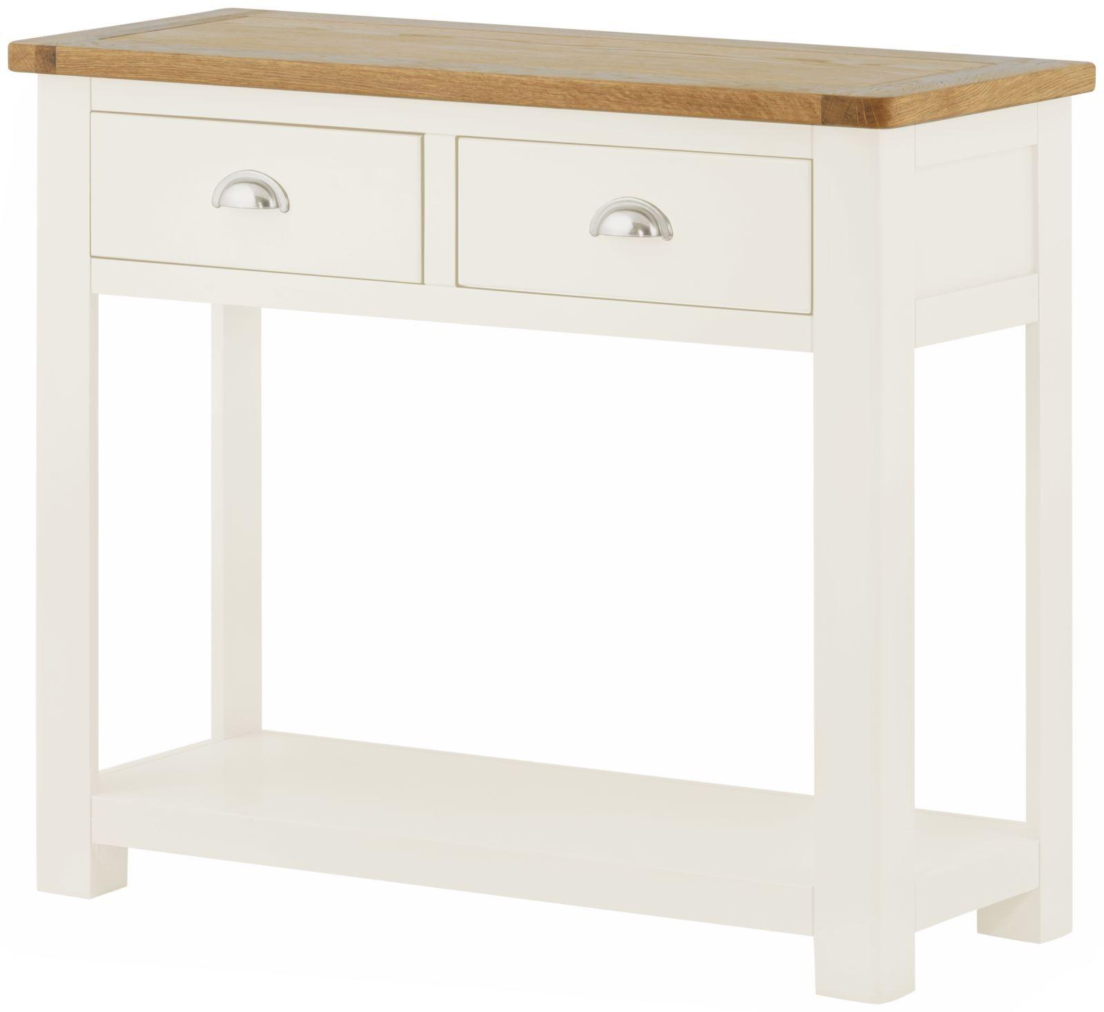PRESTON 2 Drawer Console Table