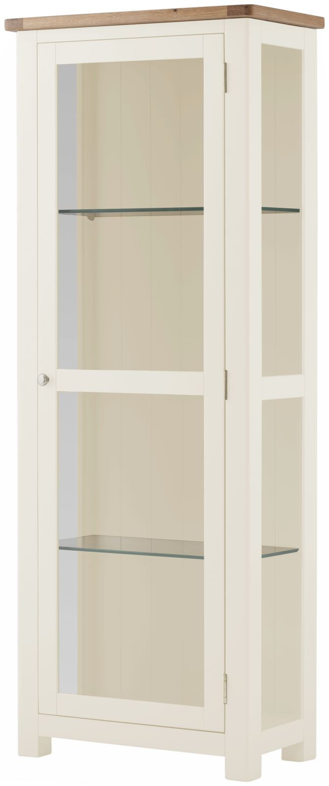 PRESTON Glazed Display Cabinet