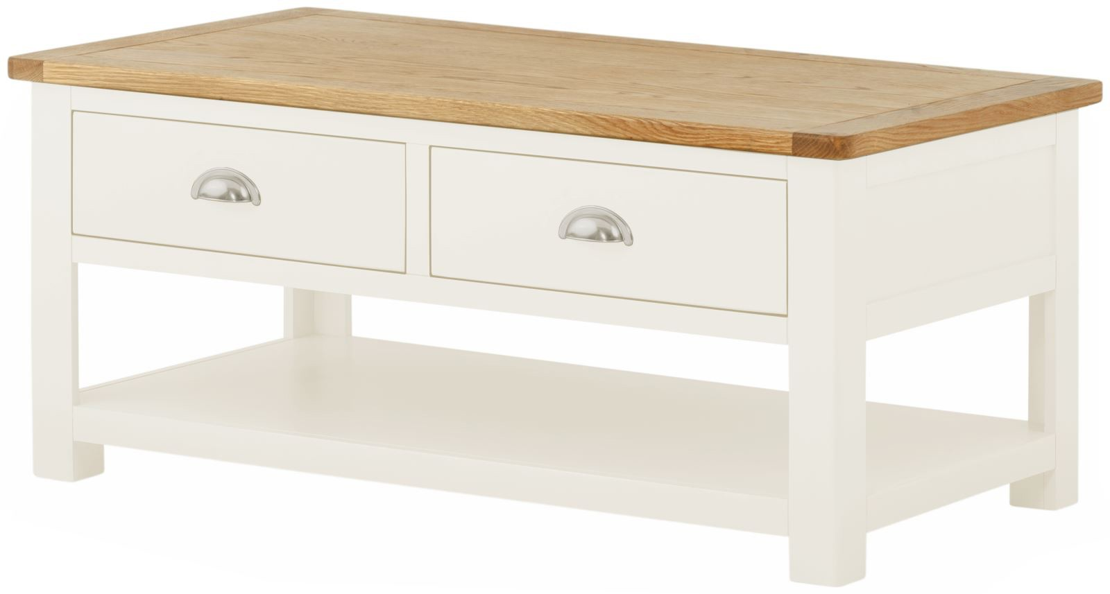 PRESTON Coffee Table with Drawers
