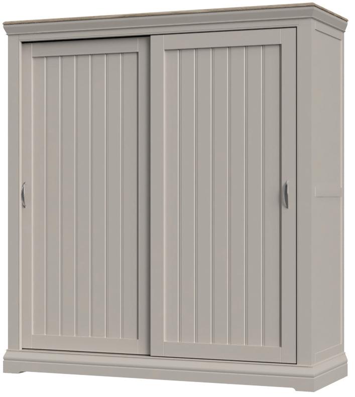 COBBLE Sliding Door Double Wardrobe