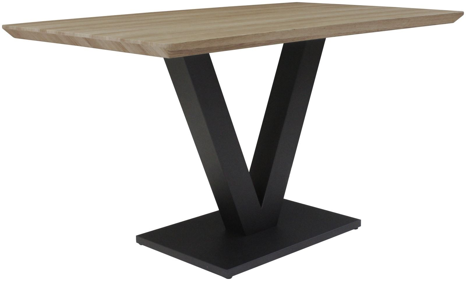 LARSON Dining Table - Delta Light Oak Finish