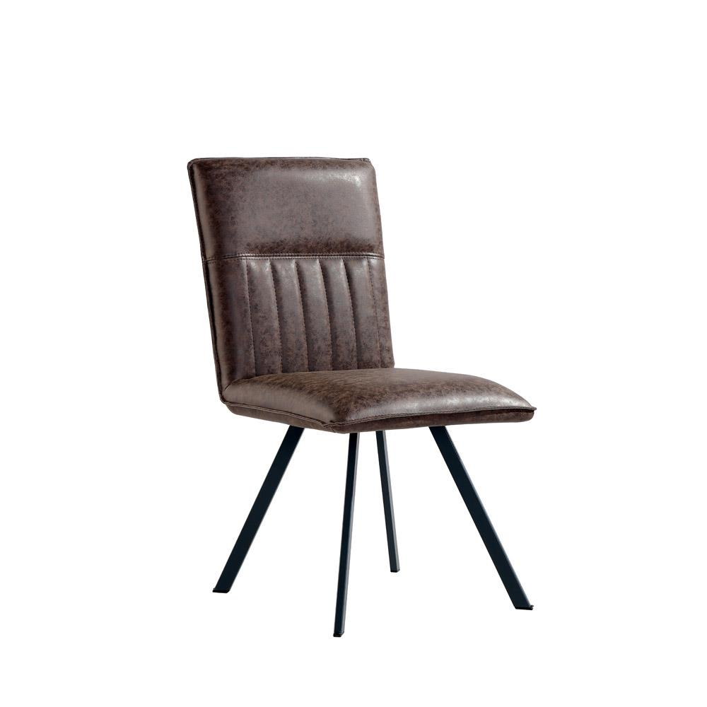 Dining Chair - Brown PU