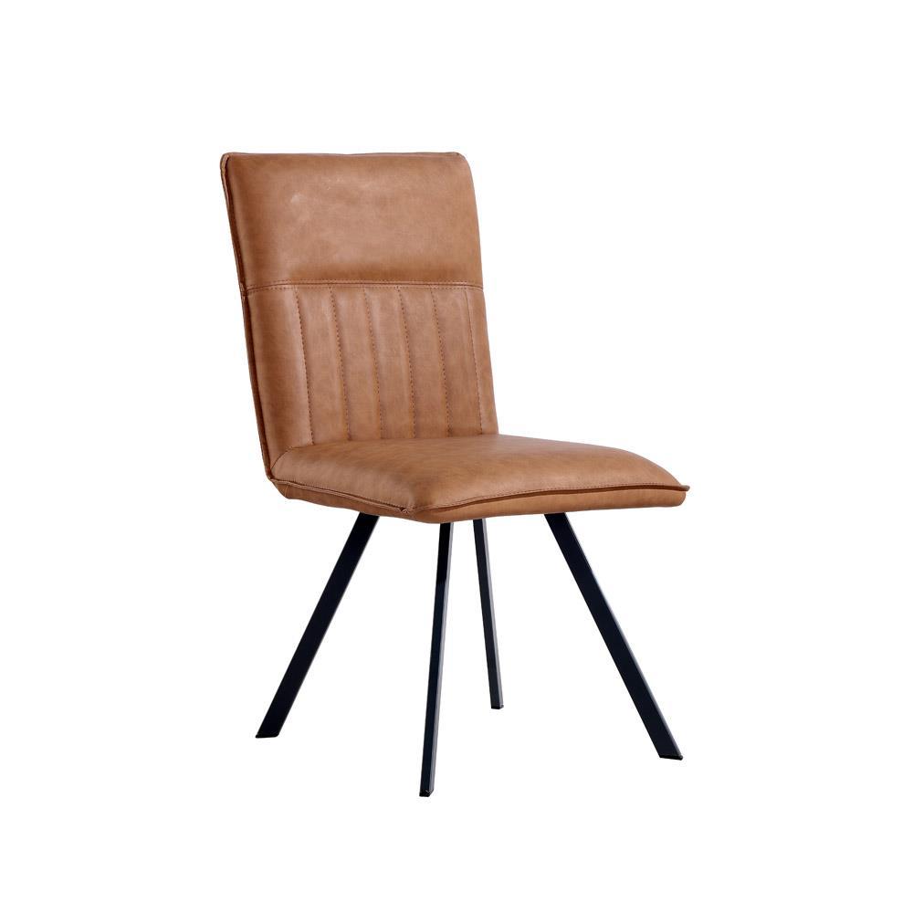 Dining Chair - Tan PU