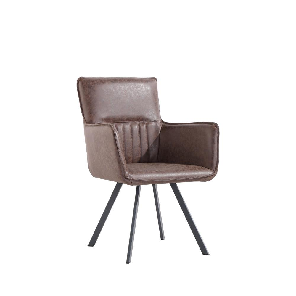 Carver Chair - Brown PU