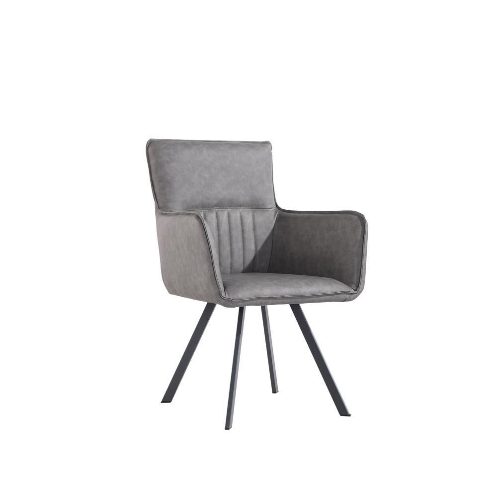 Carver Chair - Grey PU