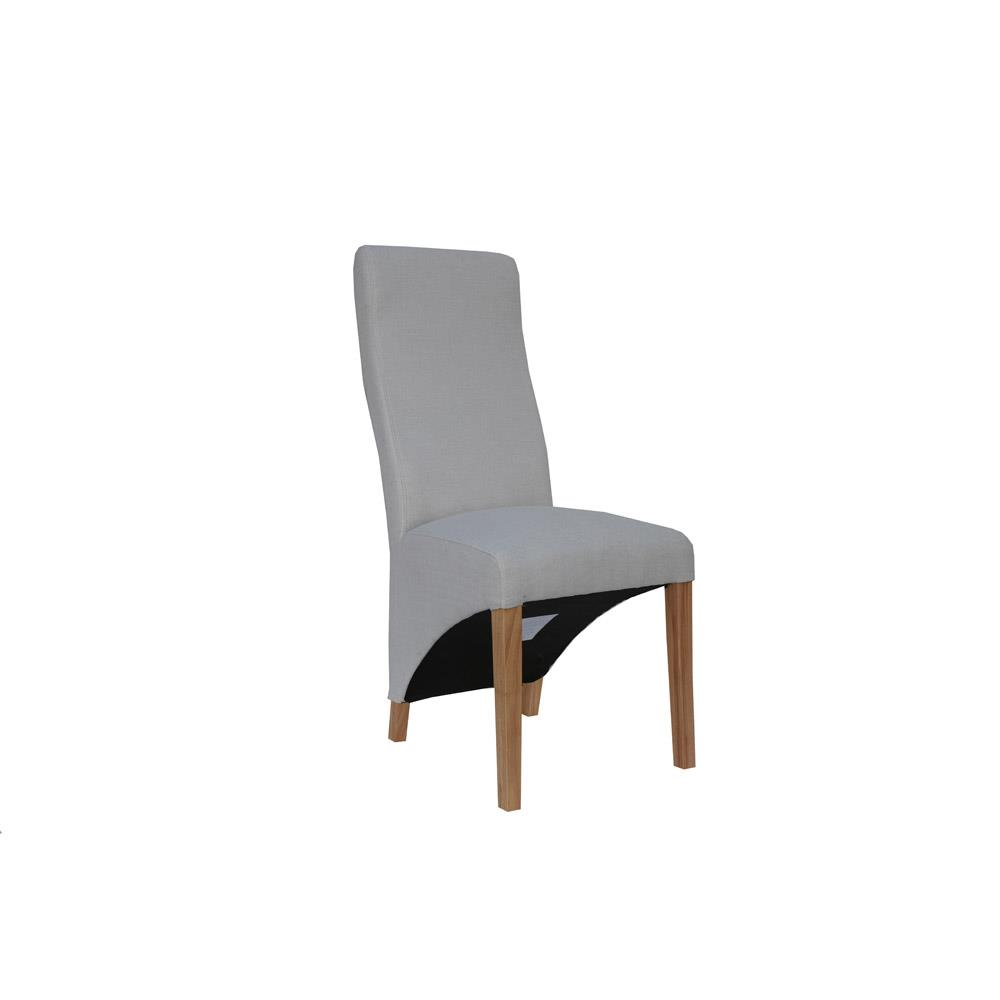 Wave Back Chair - Natural
