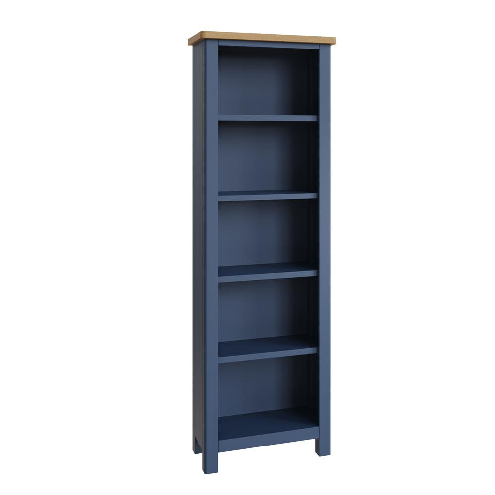 RAYWELL Painted Large Bookcase (Blue)