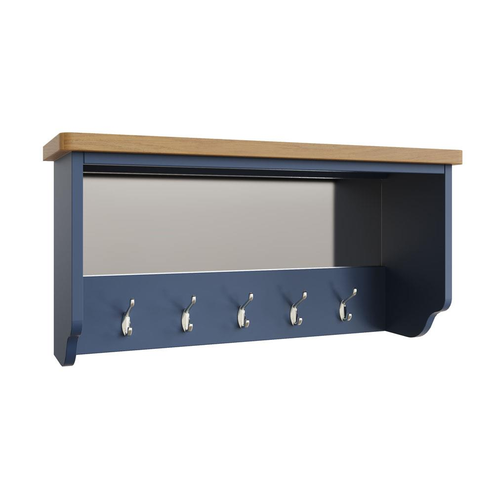 RAYWELL Painted Hall Bench Top (Blue)