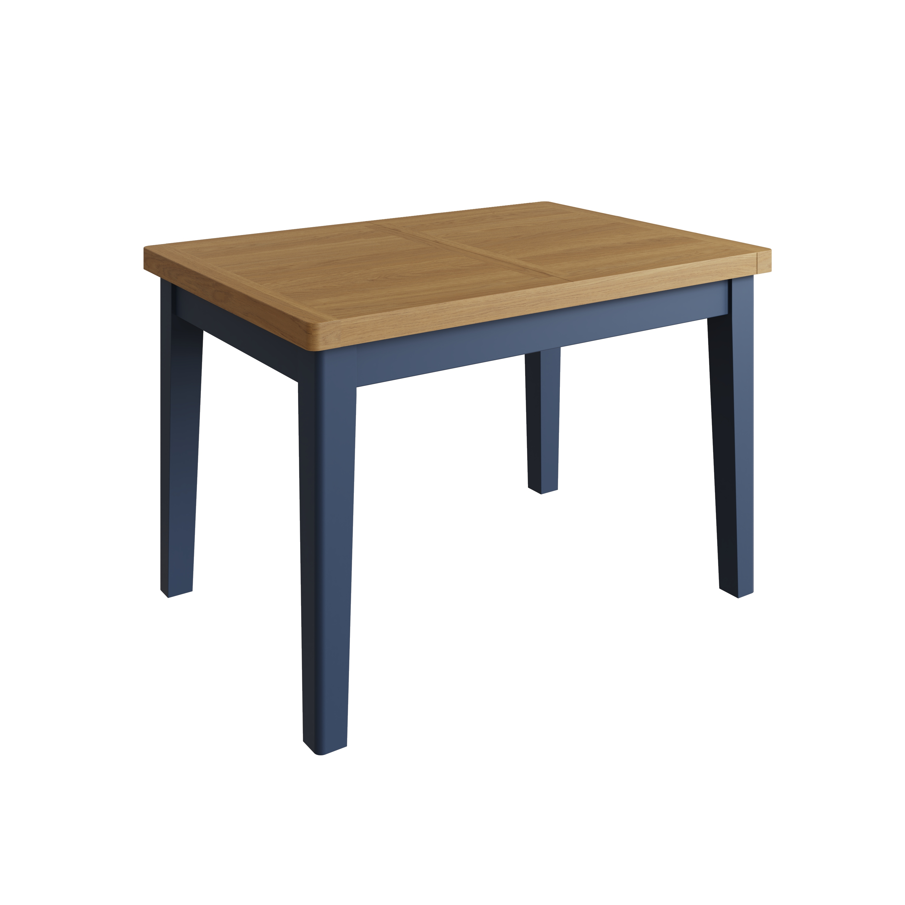 RAYWELL Painted 1.2m Extending Table (Blue)